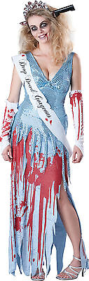 De Zombie para Dama Instituto Niña Reina Del Baile Disfraz de Halloween](Disfraz De Zombie Para Halloween)