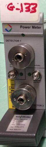 Jdsu Maps+1k70108n1fp Power Meter 2x Gaas Input And 2x Analog Output