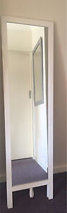 White free standing tall mirror Dianella Stirling Area Preview