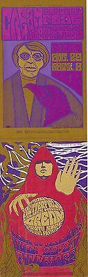 MINT Eric Clapton & Cream Paul Butterfield 1968 BG 79/80 FIRST Fillmore Card