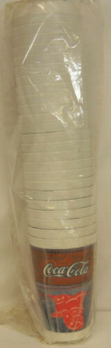 Coca Cola RAX ROAST BEEF Denim Jean Pocket Sleeve of 25 Plastic 20 oz Cups NEW