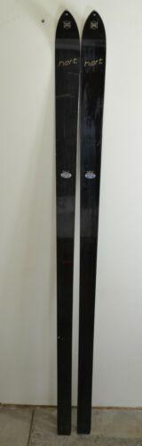 Vintage HART Medium Flex 205 cm Black Downhill SKIS / Made in USA