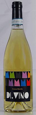 6 Fl. Franco Mondo Monferrato Bianco Di.Vino 2011 DOC Weißwein Asti Piemont