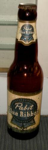 "RARE Vintage 30"" Glass Pabst Blue Ribbon Empty Bottle"