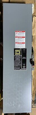 Square D Circuit Breaker J250awk Enclosure 250a 240480600 Nema 3r