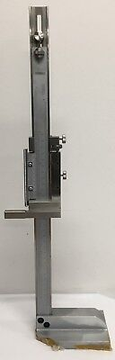 Fowler Stainless Steel Vernier Height Gage 0-120-30cm Range .001 Graduation