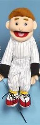 """24"""" Boy In Baseball Jersey Puppet SS2103 New By Sunny"""