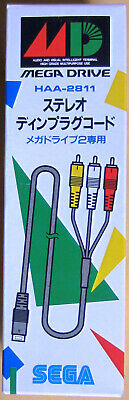 Sega Mega Drive: Audio / Video AV Cable [HAA-2811] [Brand New]