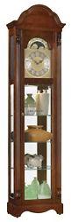 Ridgeway Clarksburg Curio Grandfather Clock 38% OFF MSRP R2041