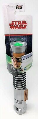 Star Wars Last Jedi Bladebuilders Luke Skywalker Green Lightsaber Extendable Toy