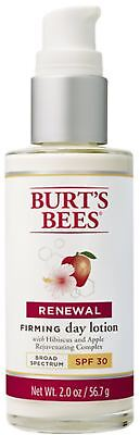 Burt's Bees Renewal Day Lotion SPF 30, Firming Face Lotion,