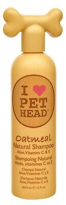 Pet Head Oatmeal Natural Shampoo for Dogs Delivers protection 12oz
