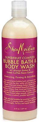 SheaMoisture SuperFruit Complex Bubble Bath & Body Wash, 16