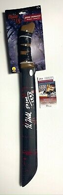 Kane Hodder Signed Jason Voorhees Toy Friday the 13th