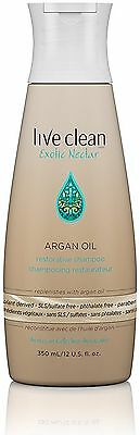Live Clean Exotic Nectar Argan Oil Restorative Shampoo 12 oz