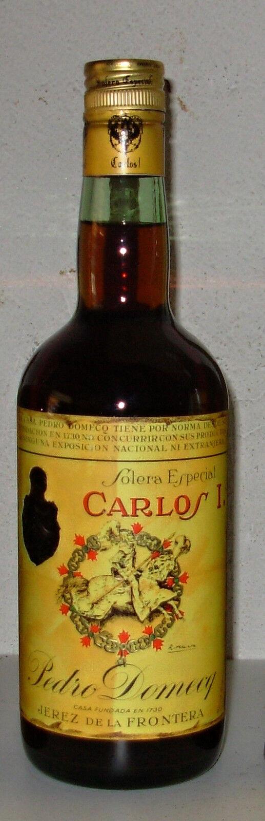 Brandy Carlos I° Pedro Domecq Solera Gran Reserva Esp 75cl 40%