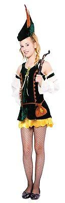 Robin Kostüme Mädchen (Mädchen Hunter Mädchen Robin Hood-Kostüm Teenage Größe Kostüm)