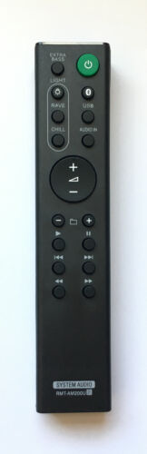 New Sony Replacement Remote Control Rmt-am200u For Sony Home Audio Av System