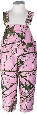 Pink Camo Bib (Infant - Toddler Baby Girl Pink Camo Cotton Ranger Bib Overall - Camouflage)
