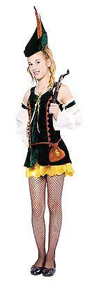 Hunter Mädchen, Robin Hood Teenager Kostüm, Halloween Kostüm, Größe (Robin Hood Kostüm Mädchen)