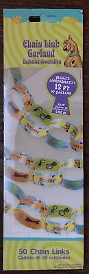 Scooby Doo Paper Chain Birthday Party Decoration. New In Package. - Scooby Doo Birthday