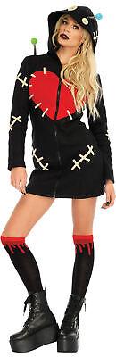 Cozy VooDoo Doll Womens Costume Hooded Dress Halloween Leg Avenue