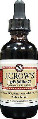 J Crows Lugols Iodine Solution  2 Oz