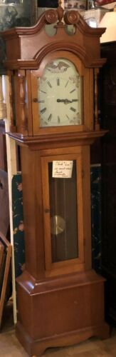 Vintage Antique Americana Grandfather Clock - Mason & Sullivan - West Germany