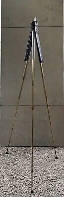 Vintage Camera Tripod by Bilora - Perfect No. 77 w/ Extending Legs + Fitted Case