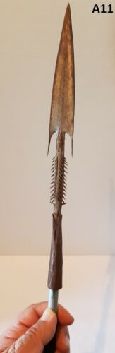 Spear Head from Northern Congo Area Occupied By The Zande Tribe