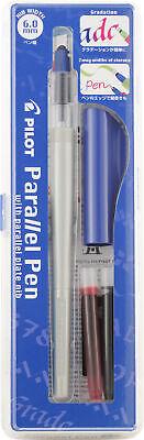 Pilot Parallel Blue 6.0mm Fountain Pen