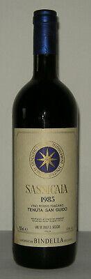 Sassicaia 1985 - Tenuta San Guido (Importatore Bindella - Svizzera)