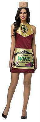 ADULT WINE ALCOHOL DRINKING PARTY COSTUME DRESS GC6333](Adult Halloween Party Drinks)