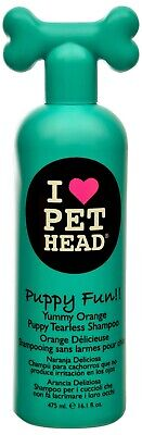 - Pet Head Puppy Fun Tearless Shampoo for Dogs Hypoallergenic tearless 12oz