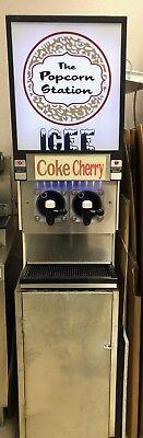 Frozen Beverage Dispenser Fbd 2 Barrel Flavor Slushy Machine Icee Slurpee