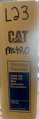 Caterpillar Cat 304c Cr 305c Cr Mini Hydraulic Excavators Repair Service Manual