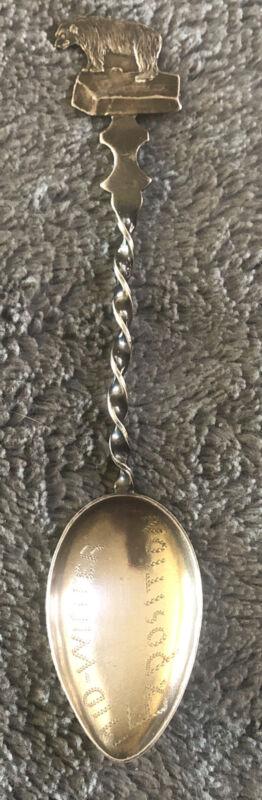 1894 California Midwinter Exposition Sterling Silver Souvenir Spoon
