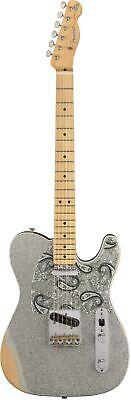 Fender Brad Paisley Road Worn Tele - Silver Sparkle
