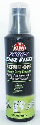 (Kiwi Sport Scrub-Off Heavy Duty Footwear Cleaner - 8 oz)