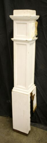 """51"""" Antique Vintage Victorian Oak SOLID Wood Wooden Staircase Stair Newel Post"""