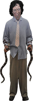 Snake Handler Animated Halloween Prop Haunted House Distortions Scary Decor (Animated Snake)