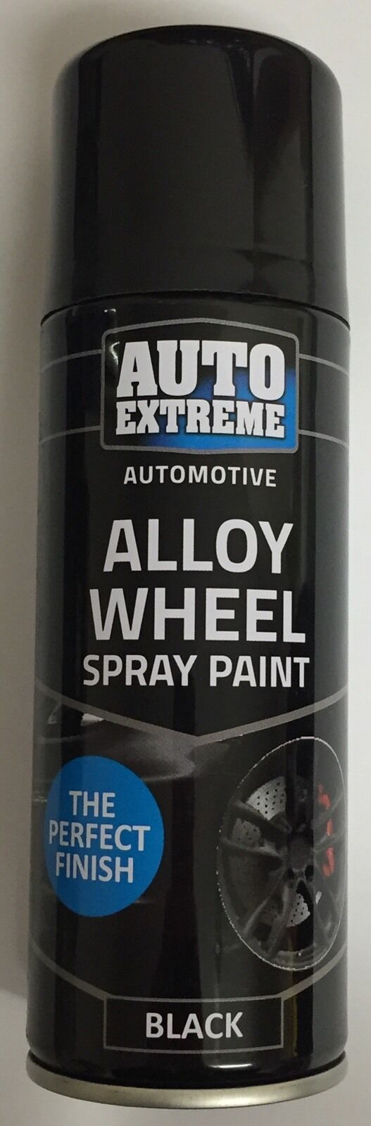 black satin alloy wheel spray can restorer car bike auto. Black Bedroom Furniture Sets. Home Design Ideas