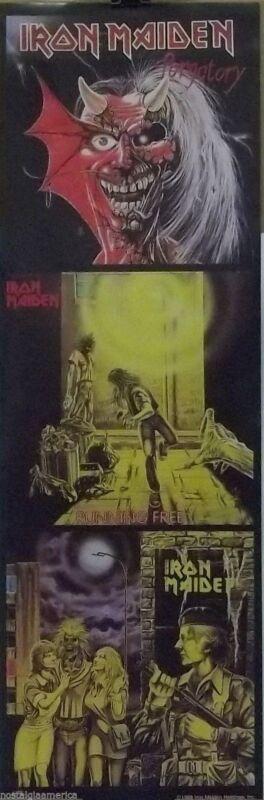 Iron Maiden 9x26 Purgatory Locker Poster 1988