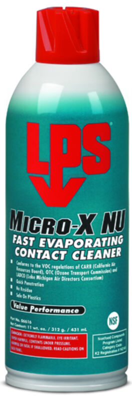 LPS 06616 LPS 16 oz. Aerosol Can, Contact Cleaner