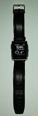 Pebble steel 401 smart watch schwarz  gebraucht kaufen  Dresden