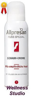 Allpresan Nr. 7 Fuß spezial Schaum Creme 125 ml für Pilz-empfindliche Haut