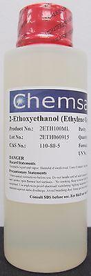 2-ethoxyethanol Ethylene Glycol Monoethyl Ether 98.5 100ml
