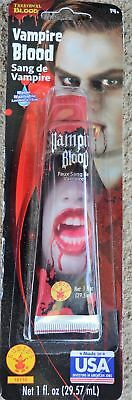 Vampire Theatreical Blood Dracula Demon Costume Accessory Halloween