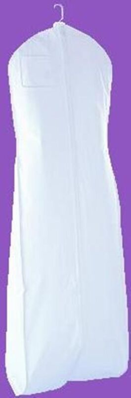 5 White Bridal Wedding Gown Dress Garment Bag