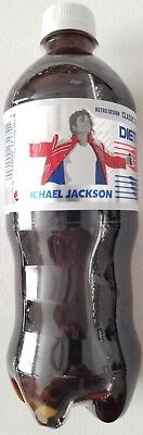 New Diet Pepsi Soda Retro Design Michael Jackson 20 Oz Free Worldwide Shipping